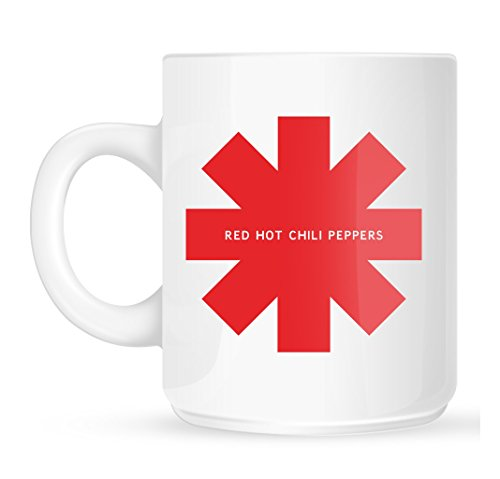 Red Hot Chili Peppers asterisco Tazza RHCP Logo Tazza Da Caffè