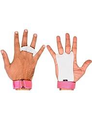 Ultra Fitness® - Paire de maniques pour enfant, unisexe, en cuir texturé, gants de sport pour tractions, crossfit, musculation, kettlebells et haltères - Protège les paumes de la main des déchirures et des cals - -