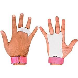 Ultra Fitness® Handflächenschoner, Narbenleder, für Gymnastik, Klimmzüge, Crossfit, Krafttraining, Boxen, Kugelhantel und Gewichtheben (Kinder-/Jugendgröße) Schützt die Handflächen vor dem Einreißen und vor Schwielen, für gesunde Hände.