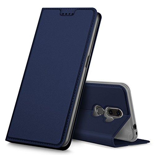 Alcatel 3V Hülle, GeeMai Premium Flip Case Tasche Cover Hüllen mit Magnetverschluss [Standfunktion] Schutzhülle Handyhülle für Alcatel 3V Smartphone, Blau