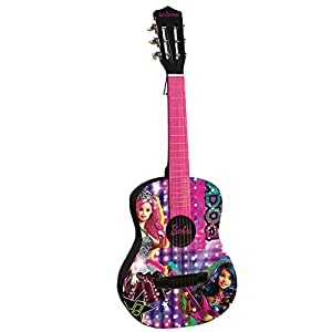 LEXIBOOK- K2000BB - Guitare Acoustique - Barbie