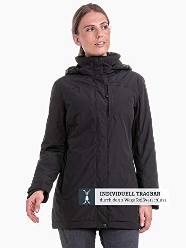 wind- und wasserdichte Winterjacke für Frauen, warme und atmungsaktive Outdoor Jacke