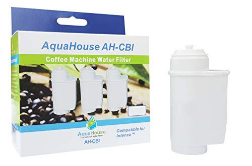 AquaHouse AH-CBI Compatible para Brita Intenza Filtro de agua para Bosch Neff Siemens Gaggenau Cafeteras TZ70003 TCZ7003 467873 575491