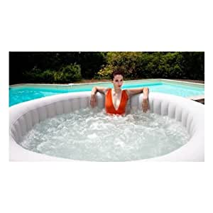 Spa jacuzzi gonflable super spark luxe 6 places selection veryspas amazon - Petit jacuzzi gonflable ...