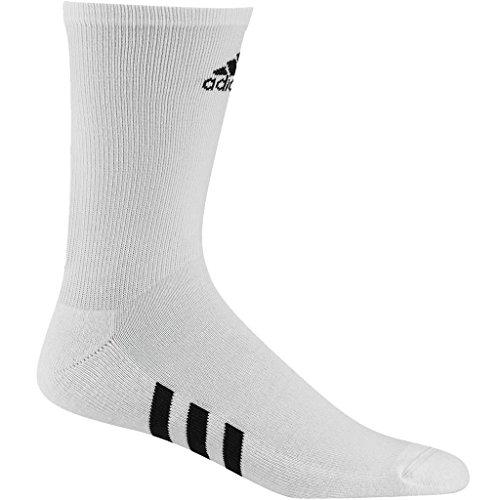 Adidas Golf 2018 Mens Crew Sports Gym Running Socks - Pack Of 3