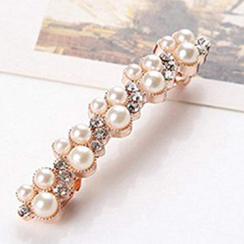 Jinxuny Mode Kristall Strass Perle Haarnadel Mädchen Haarspange Haarspange Schmuck Styling Frauen Haarschmuck (Style : 02#)