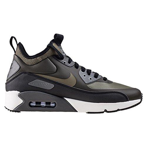 Nike Air Max 90 Ultra Mid Winter Dunkelgrün (Sequoia/Black/Dark Grey/Medium Olive)