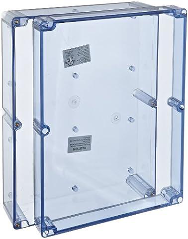 BUD Industries BT-2742 Polycarbonate NEMA 4X Box, 11-51/64