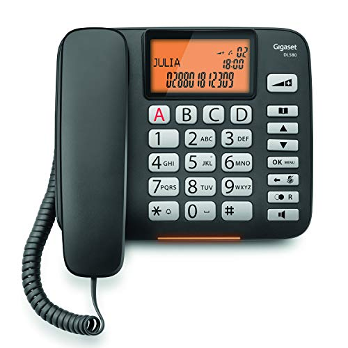 Gigaset DL580. Teléfono fijo con cable