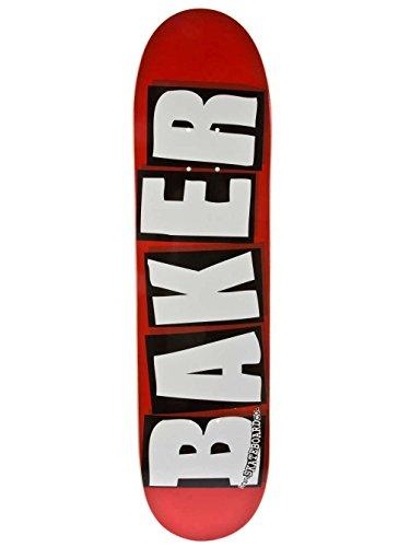 Baker Skateboard Deck Brand Logo White 8.125 Skate Deck