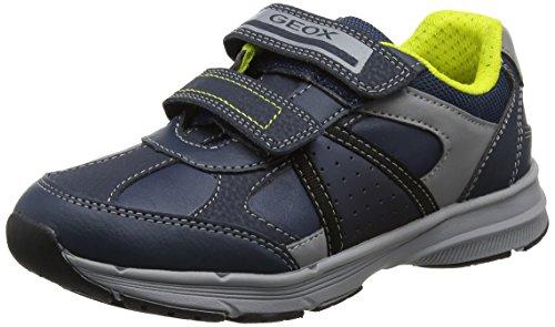Geox J Pavel B, Zapatillas Para Niños, Azul, 35 EU: Zapatos