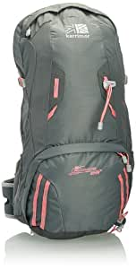 Karrimor Adult Airspace 28 Backpack - Steel Gray/Soft Grey/Coral