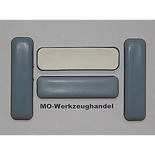 16 Stück SBS Teflon-Möbelgleiter 19 x 70 mm Selbstklebend, PTFE-Gleiter