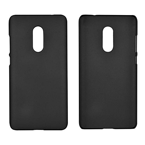XIAOMI Case Cover Xiaomi Hongmi Anmerkung 4 Abdeckung, leichte dünne feste Farbe bereifte Plasitc harten schützenden rückseitige Abdeckungs-Fall für Xiaomi Hongmi Anmerkung 4 ( Color : Red ) Black