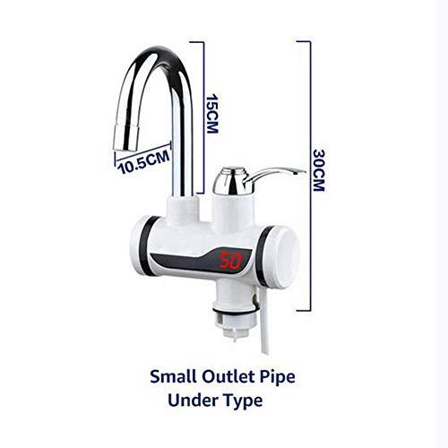 Elektro-Durchlauferhitzer Warmwasserhahn Sofort Warmwasserhahn Kaltwasserhahn Elektro-Durchlauferhitzer,Smallundertype