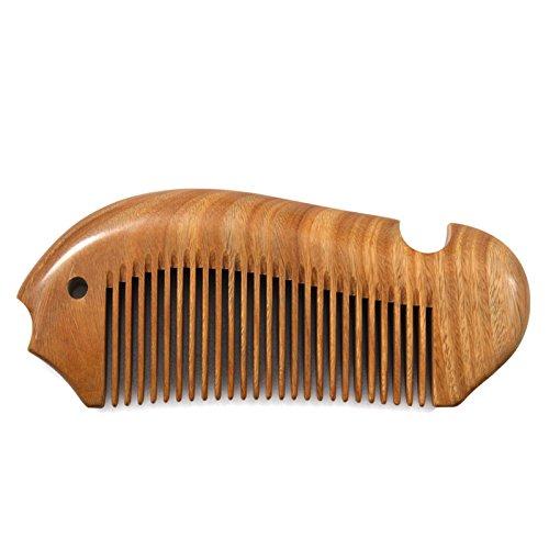 YL- Kamm Anti-Statik-Haar-Ausschnitt-Werkzeug-langes Haar-Kamm-gerades Haar nicht geknoteter hölzerner Kamm Shunfa-Art-Kamm