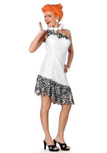 Generique Wilma Feuerstein-Kostüm für Damen - Feuerstein Kostüm Für Erwachsene