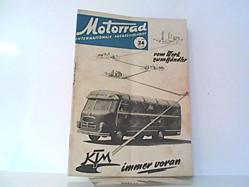 Motorrad. 8. Jahrgang, Heft 24 / 346, 11.06.1955. Internationale Fachzeitschrift. Mit Themen u.a.: Das Kauba - Lux Programm 1955.. / Tip der Woche: Tankdeckel , in Ketten ,. / Fantom - ein Viertakt - sv - Fahimo.