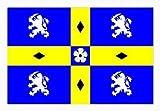 Durham County–1,5x 0,9m bandiera striscione decorazione con spedizione gratuita nel Regno Unito