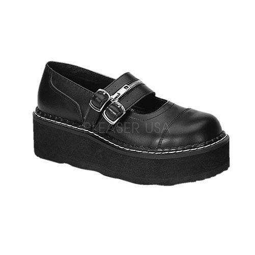 EMILY - 306 Blk Vegan Leather