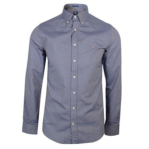 Gant Oxford Mens Persian Blue Long Sleeve Shirt