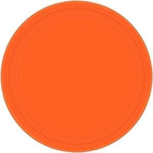 Amscan Internacionales Placas 17.7cm (Orange Pl)