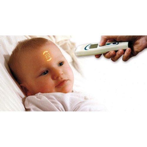 VisioFocus Fieberthermometer das auf Distanz misst – weiß - 2