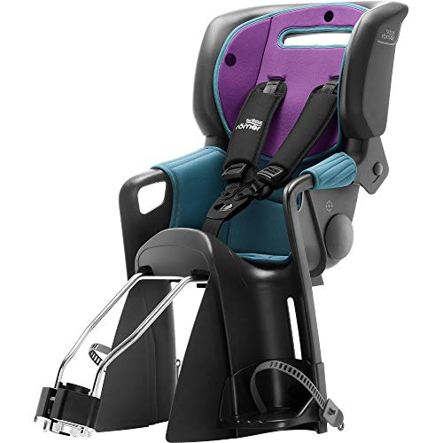 Britax Römer Jockey³ Comfort Fahrradsitz (9-22 kg), Kollektion 2019, turquies / purple