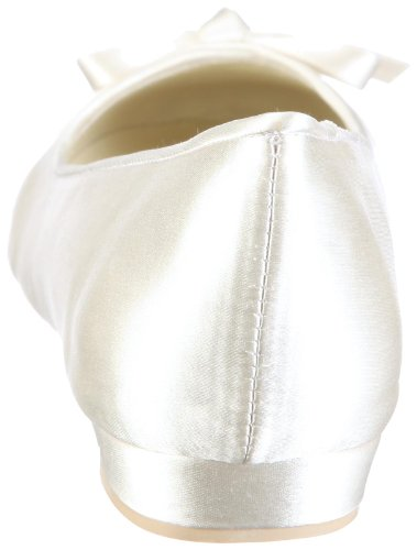 Menbur Wedding Alicia 4348, Damen Ballerinas, Elfenbein (Ivory 04), EU 38 - 2