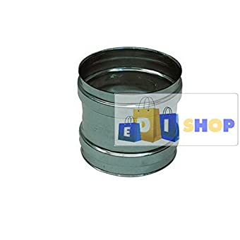 CHEMINEE PAROI SIMPLE TUYAU TUBE INOXIDABLE AISI 316 - dn 130 Femm Femm canna fumaria tubo acciaio inox 316 parete semplice