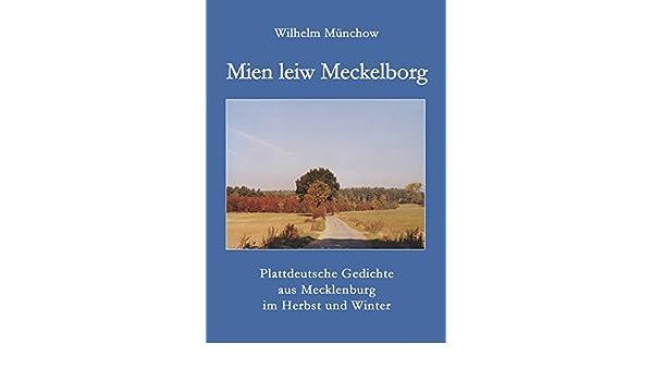Plattdeutsche gedichte mecklenburg