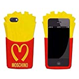 Best Cases  5c  5s - Go Crazzy Moschino Mcdonald 3D Fries Silicone Case Review