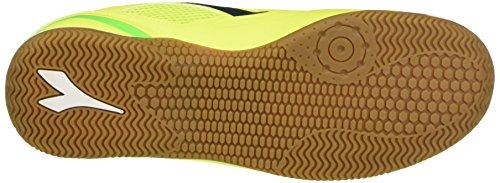 Diadora Quinto5 Id, Chaussures de Football Homme Multicolore - Multicolore (C6025 Giallo Fl/Verde Flu/Blu Estate)