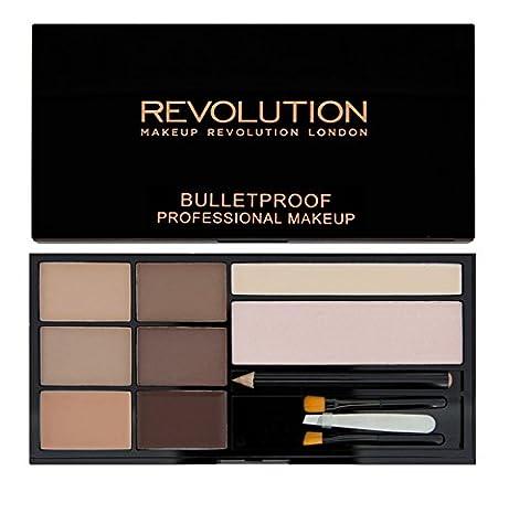 Makeup Revolution–Augenbrauen-Kit ultra Brow–Fair to