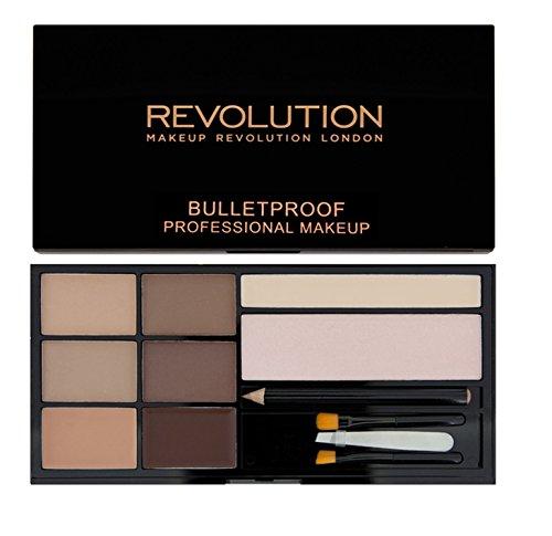 Makeup Revolution – Kit de sourcils Ultra Brow – Fair To Medium