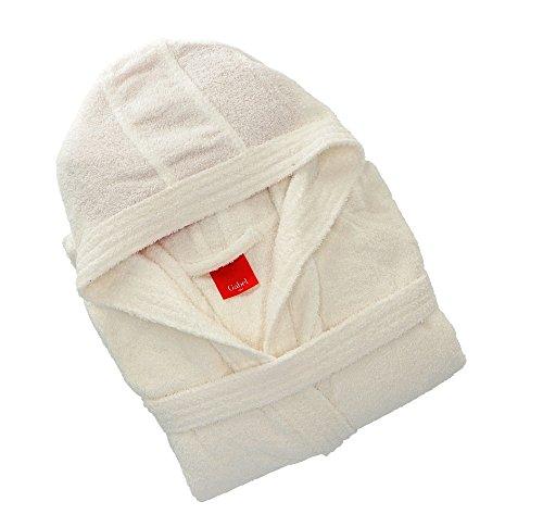 Gabel 09300 10 accappatoio adulto, 100% cotone, bianco, l