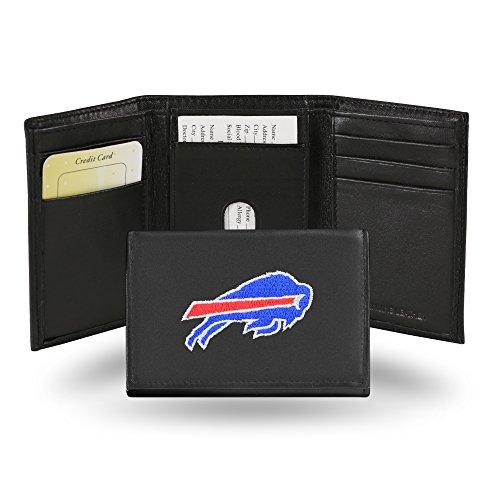 Unbekannt Besticktes Portemonnaie von NFL, dreifach gefaltet, Unisex Herren, RTR3501, Buffalo Bills, einheitsgröße (Bills Zubehör Buffalo)