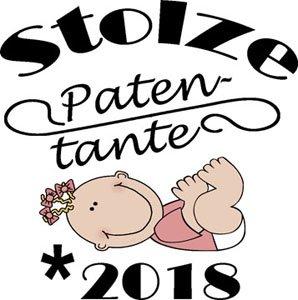 Mister Merchandise Herren Men T-Shirt Patentante - 2018 Tee Shirt bedruckt Gelb