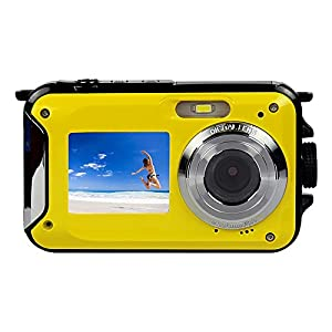 venta de mini camaras de video: TOPmountain Cámara Digital De 16X con Zoom 1080P HD, Cámara Impermeable De Video...