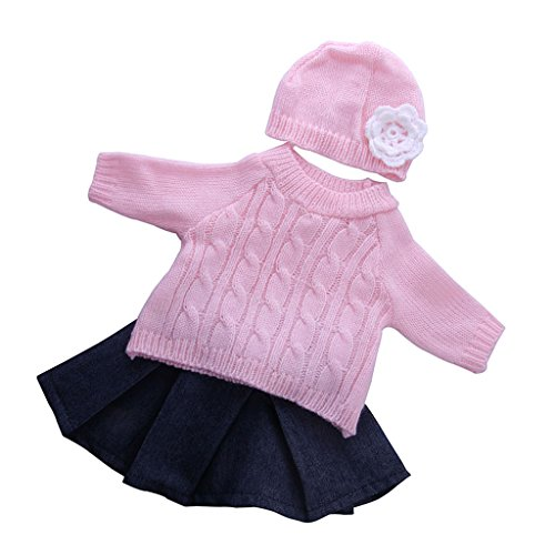 MagiDeal 3 Stück / Set Fashion Puppe Kleidung -