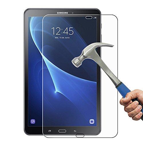 Panzerglas für Samsung Galaxy Tab A 10.1 (2016), [1 Stück] Goodshop Schutzfolie für Tab A 10.1 (2016) 9H Härtegrad Displayschutz 0.26mm Ultradünne 2.5D Abgerundete Kanten - Panzerglas für Tab A 10.1