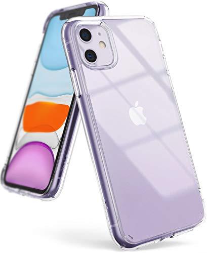 """Ringke Fusion Diseñado para Funda Apple iPhone 11, Transparente al Dorso Carcasa iPhone 11 6.1\"""" Protección Resistente Impactos TPU + PC Funda para iPhone 11 2019 - Clear"""
