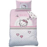 Copriletto Matrimoniale Hello Kitty.Copripiumino Hello Kitty Casa E Cucina Amazon It