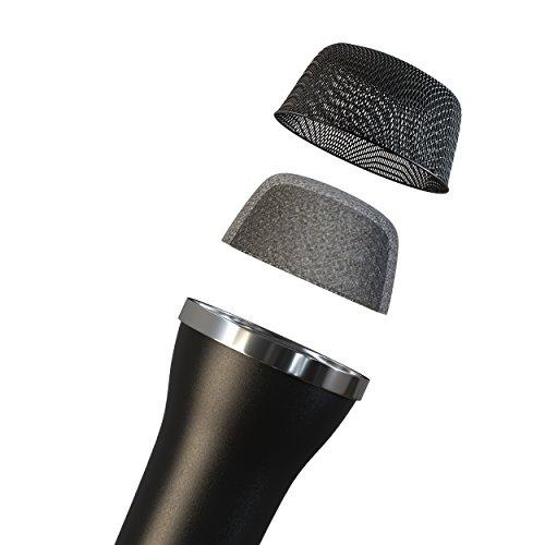 Noir Lioncast Micro USB Universel pour Karaoke et enregistrement de son PS4 PS3 2,5m de c/âble Compatible avec Wii