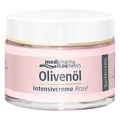 OLIVENÖL Intensivcreme Rose Nachtcreme 50 ml Nachtcreme