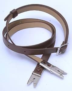 Bandoulière en cuir marron pour appareil photo Rolleiflex 2.8F 3.5F TLR