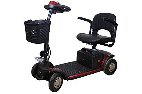 AIREL Mobility Elektroroller   Elektroroller 4 Räder   Elektroroller Erwachsene   Elektroroller mit Sitz   Elektrischer Roller mit Lichtern