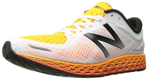 New Balance MZANTHI2-Fresh Foam Zante Breathe, Scarpe Running Uomo, Multicolore (White/Impulse 832), 45 EU