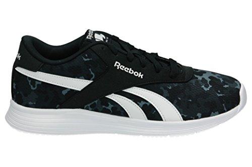 Reebok Bd5523, Sneakers Garçon Noir (Nero Black/white)