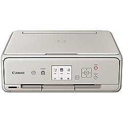 Canon Pixma ts5053EUR Imprimante Multifonction Jet d'encre, 4800x 1200, Gris